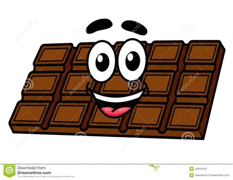 bar snack cuisine chocolate stock vector image 43847818