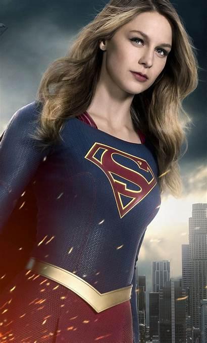 Supergirl Iphone Melissa Benoist Wallpapers Tv 4k