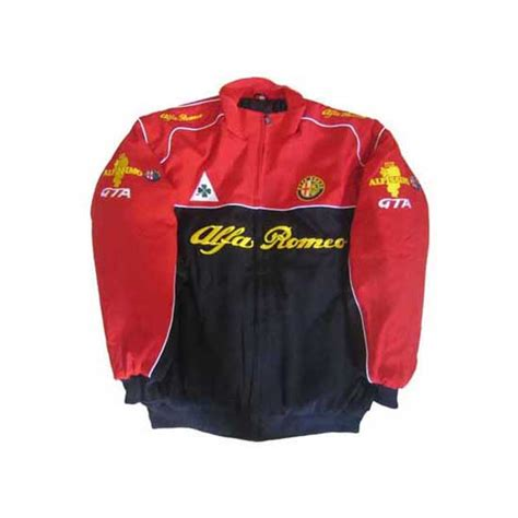 alfa romeo apparel black and nascarracingappeal