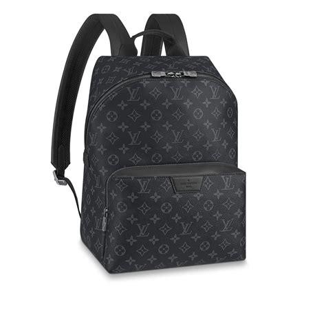 luxury leather canvas backpacks  men louis vuitton