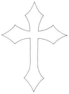 cross templates printable cross template printable