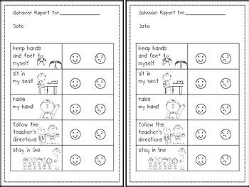preschool behavior plan reward sticker charts and sample behavior plan for 611