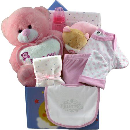 twinkle twinkle baby care package gift box pink walmart