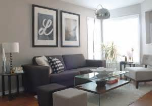 Grey And Purple Living Room Decor living room update leclair decor