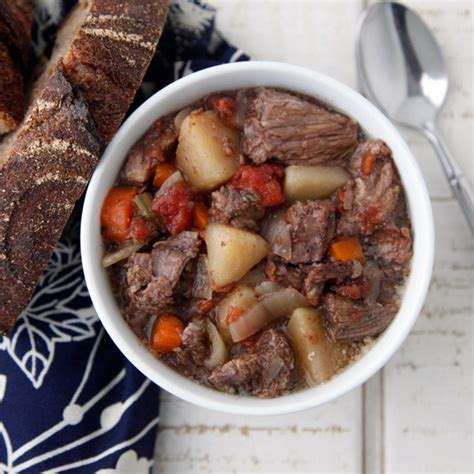 veal stew crock pot beef stew in the crock pot recipe epicurious