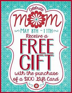 Celebrate Mom! Receive a Free Gift with the Purchase of a ...
