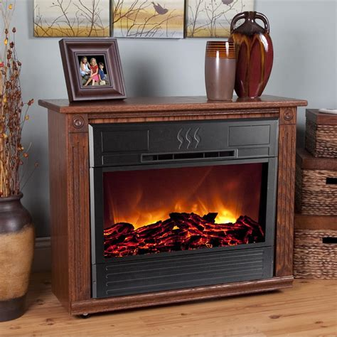 heat surge roll  glow electric fireplace