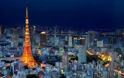 Tokyo Japan Tower Cityscape Desktop Wallpapers Mobile