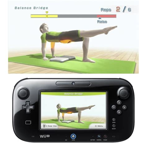 nintendo wii fit u fit meter balance board photopoint