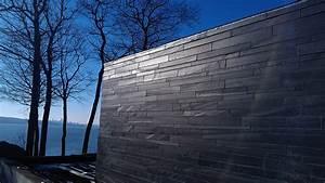 Mur exterieur en ardoise pierres technoprofil for Mur en ardoise exterieur