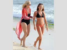 Lydia Bright gets very burnt during relaxing beach break