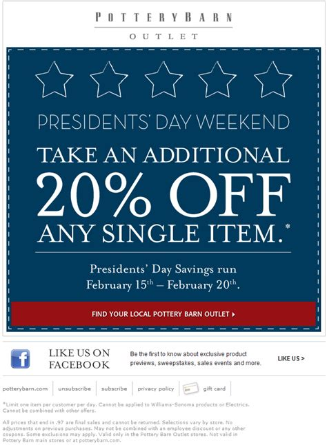 pottery barn promo code pb coupons cyber monday deals on sleeping bags