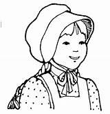 Clipart Pioneer Lds Clip Coloring Bonnet Mormon Pioneers Pages Woman Cliparts Drawing Frontier Farm Laura Prairie Boone Daniel Printable Teacher sketch template