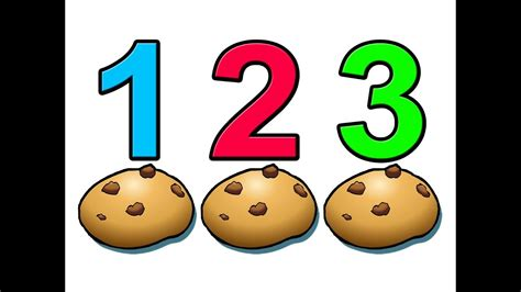 quot counting cookies quot learn to count numbers 1234 preschool 575 | maxresdefault
