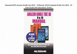 Amazon Fire Hd 10 User Manual Pdf