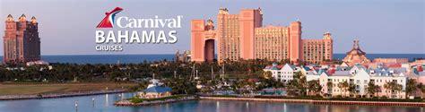 Deck Nassau Bahamas by Carnival Bahamas Cruises 2018 And 2019 Bahamas Carnival
