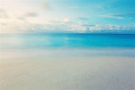 Nature Landscape Sea Beach Sand Water Wave Sky Clouds