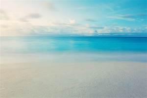 nature landscape sea beach sand water wave sky clouds ...