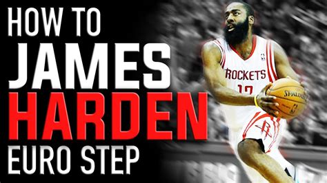 james harden euro step basketball moves   youtube