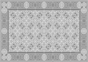 Set De Table Carreaux Ciment : set de table carreaux de ciment bertille gris tourterelle ~ Melissatoandfro.com Idées de Décoration