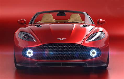 Aston Martin Reveals Vanquish Zagato Volante Convertible