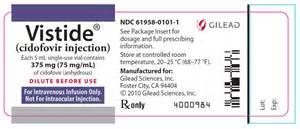 VISTIDE® (cidofovir injection)