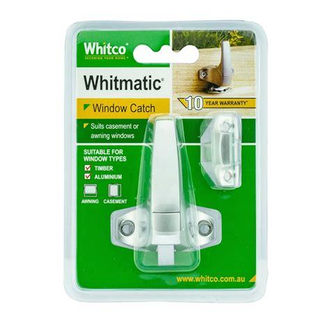 whitco satin chrome whitmatic window fastener bunnings warehouse