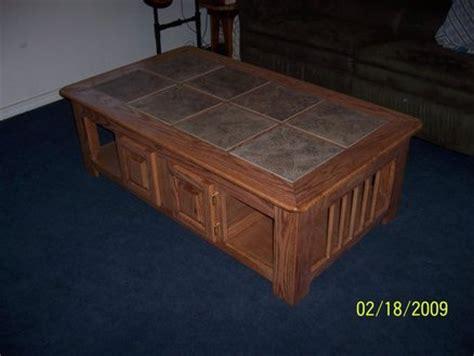 Wood Hinged Top Coffee Table Plans Pdf Plans