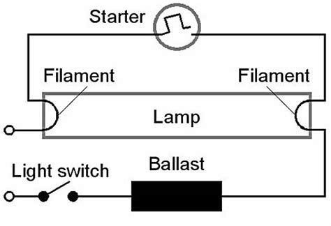 fluorescent l and working principle of fluorescent l