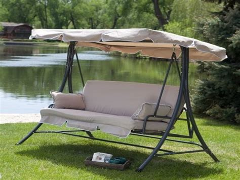 Best 20+ Outdoor Swing With Canopy Ideas On Pinterest