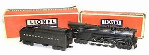 Lionel No  681 Steam Loco W   2046w-50 Prr Tender