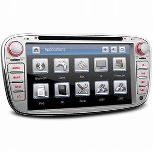 Ford Mondeo Radio : silver ford mondeo mk4 oem style ui stereo kudos satnav ~ Jslefanu.com Haus und Dekorationen