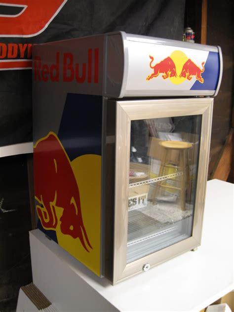 sale red bull mini fridge refrigerator myg