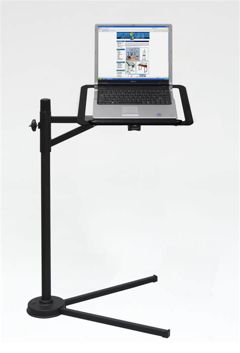 computer desk with laptop stand studio designs calico tech laptop stand