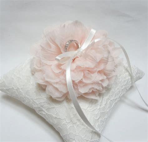 wedding ring pillow ring bearer pillow pink ring pillow