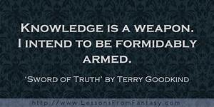 Sword Of Truth ... Terry Goodkind Love Quotes