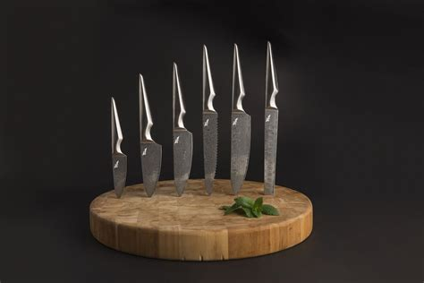 Kitchen Knife Collection by Kuroi Hana Japanese Knife Collection 187 Gadget Flow
