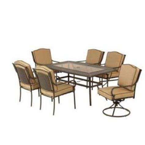 Martha Living Patio Furniture by Martha Stewart Outdoor Patio Dining Set From Home Depot