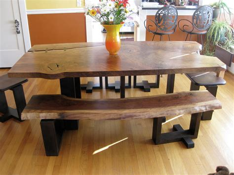 Dining Table With Bench by Rustic Dining Room Furniture Bringing Cozy Nature