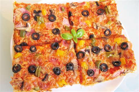 pizzateig rezept pizza selber machen