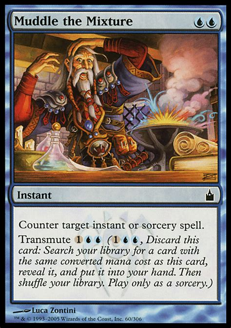 muddle the mixture magic the gathering card info