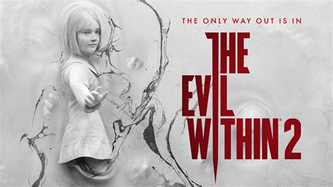 Wallpaper Lily Castellanos, The Evil Within 2, HD, Games