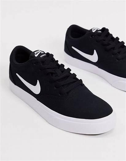 Nike Sb Charge Canvas Sneakers Asos Kanvas