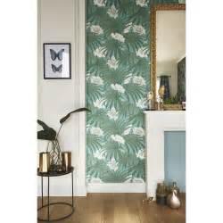 Papier Peint Vert Leroy Merlin by Papier Peint Intiss 233 Palm Leaves Vert Leroy Merlin