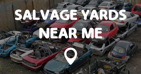 salvage yards   points