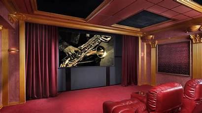 Theater Theatre Cinema Wallpapers Rooms Desktop 4k