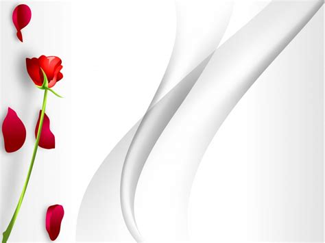 abstract powerpoint templates redrose with abstract backgrounds flowers templates free ppt grounds and powerpoint