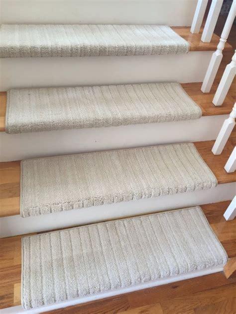 6 Colors  True Bullnose™ Carpet Stair Tread Mulberry