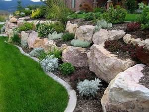 mur de soutenement beau et utile With exceptional jardin de rocaille photos 4 fleurir un escalier
