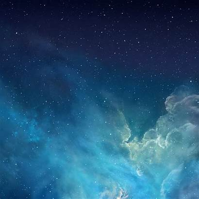 Ipad Retina Mini Ios Ios7 Galaxy Background